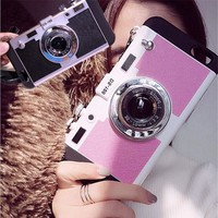 Cute Iphone 6/6s Stylish On Sale Hot Deal Silicone Innovative Apple Photographing Iphone Korean Phone Case [8423715649]