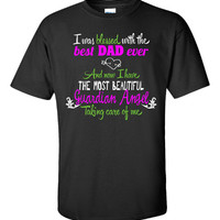 I Was Blessed With The Best Dad Ever Father Memorial - Unisex Tshirt