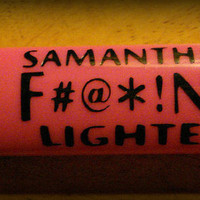 set of 2 Bic Lighter Decals, Bic Lighter anti-theft Decal, Stop Stealing My Lighter Decal, My F#@*!ng Lighter