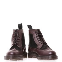Mathias leather and pony skin boots | Dr. Martens | MATCHESFAS...