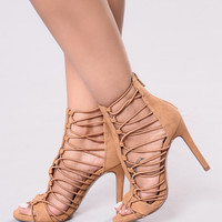 Candy Heel - Tan