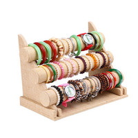 3 Tier Bracelet T-Bar Rack Jewelry Organizer - Stand Holder
