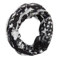 Distressed American Flag Infinity Scarf