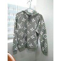LV Grey For Fashion Women Men Hoodie