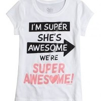Super Awesome Graphic Tee | Girls Summer Steals Sale & Clearance | Shop Justice
