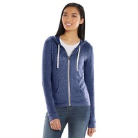 Mudd Sweater-Knit Zip Front Juniors' Hoodie, Size: