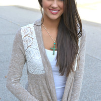 Lace Embrace Cardigan
