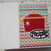 6x6 Recipe Book Album