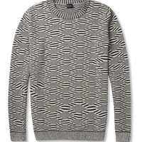 PS by Paul SmithPatterned Crew Neck Sweater|MR PORTER