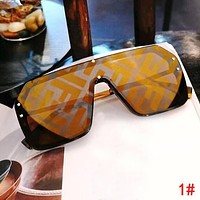 FENDI Hot Sale Women Men Fashionable Shades Eyeglasses Glasses Sunglasses 1#