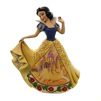 Jim Shore CASTLE IN THE CLOUDS Polyresin Disney Snow White Dress 4045243