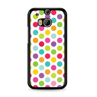 Colorful Polka Dots HTC One | M8 case