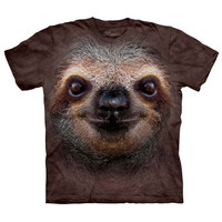 The Mountain Men's  Sloth Face Small T-shirt