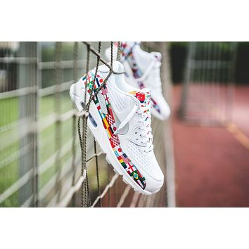 "Nike Air Max 90 NIC QS White ""International Flag"""