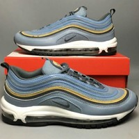 NIKE AIR MAX 97 Full Palm Air Shock Absorbing Sports Running Shoes F-CSXY blue