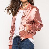 Ellie Satin Bomber