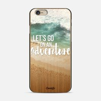 Let's Go On An Adventure (wood) iPhone 6 case by Noonday Design | Casetify