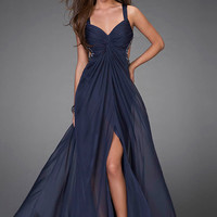 Glamorous Prom Gown by La Femme 15148