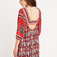 Free People Midsummer Mini Dress in Red - Urban Outfitters