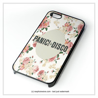 Panic At The Disco Flowers iPhone 4 4S 5 5S 5C 6 6 Plus , iPod 4 5 , Samsung Galaxy S3 S4 S5 Note 3 Note 4 , HTC One X M7 M8 Case