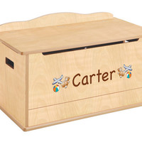 Guidecraft Expressions Toy Box: Natural - G87203
