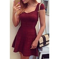 CLASSY SHORT SLEEVE HIGH QUALITY DRESS NOT THE POOR