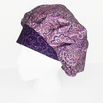 Purple and Pink Paisley