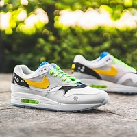 Nike Air Max 1 Daisy Pack Low-top Flat Sneakers Shoes
