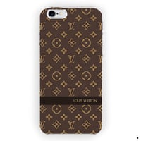 Louis Vuitton Logo Design Style For iPhone 6 / 6 Plus Case