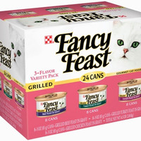 Fancy Feast Grilled Value Pack -  24 1/4.5