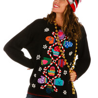 Christmas is for Pizza Ugly Christmas Sweater