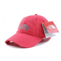 mieniwe? Perfect The North Face Women Men Embroidery Leisure Sunshade Cap Sport Baseball Cap Hat
