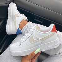 Nike Air Force 1 Inside Out AF1 Sneakers Shoes