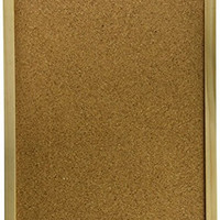 Darice 9172-63 Wood Framed Cork Memo Board with Push Pins, 12 by 16""