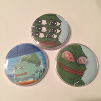 Pepe Pins Set #2