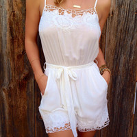 Cloud Nine Romper - FINAL SALE