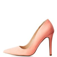 SINGLE SOLE POINTED TOE PUMPS