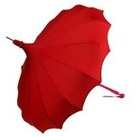 Bella Umbrella Pagoda - Ravishing Red Umbrellas from Seattle