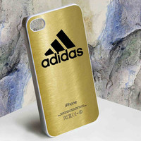 Adidas Logo Gold for iphone 4/4s, iphone 5, Samsung Galaxy S3 i9300, Samsung Galaxy S4 i9500 case