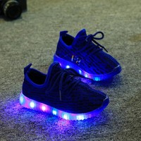 Kids and Toddler Casual LED Shoes