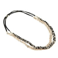 AEO Metallic Braided Headband Set | American Eagle Outfitters