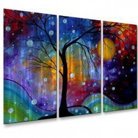 All My Walls Winter Sparkle Metal Wall Art - MAD00086 - All Wall Art - Wall Art & Coverings - Decor