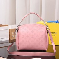 LV Louis Vuitton MONOGRAM LEATHER Babylone HANDBAG SHOULDER BAG