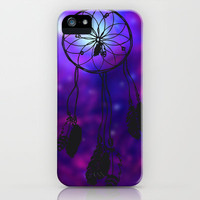 Dreamcatcher (purple) iPhone Case by christinarashel | Society6