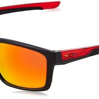 Oakley Men's Mainlink Non-Polarized Iridium Sunglasses OO9284 2657