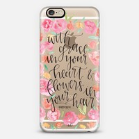 Grace in your Heart, Flowers in your Hair - Mumford & Sons iPhone 6s case by Angela Davidson | Casetify