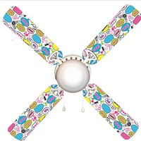 "Barbie Says 42"" Ceiling Fan and Lamp"