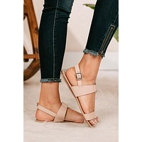 On Island Time Sandals (Nude)