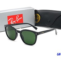 RayBan Ray-Ban Popular Women Men Casual Sun Shades Eyeglasses Glasses Sunglasses 6#
