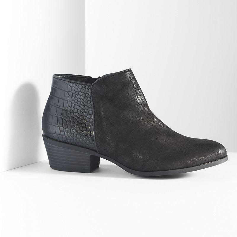Simply Vera Vera Wang Ankle Boots Women From Kohl S Shoes